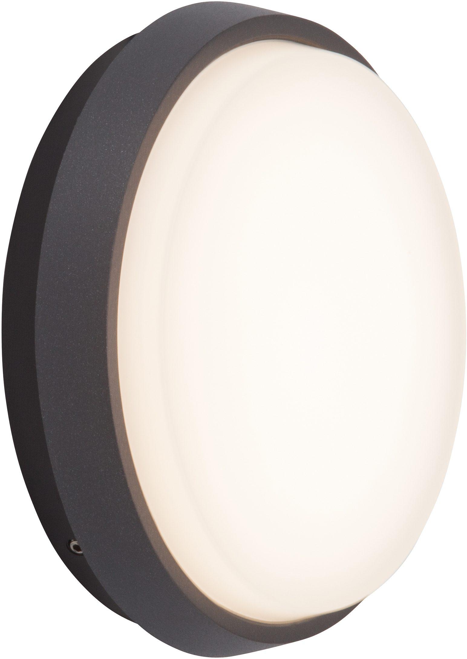 AEG Leuchten LED Außen-Wandleuchte »LETAN ROUND«, 1-flammig