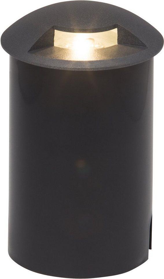 AEG LED Außenleuchte, 1flg., Bodenleuchte, »TRITAX« in Aluminium/Glas /Kunststoff, anthrazit