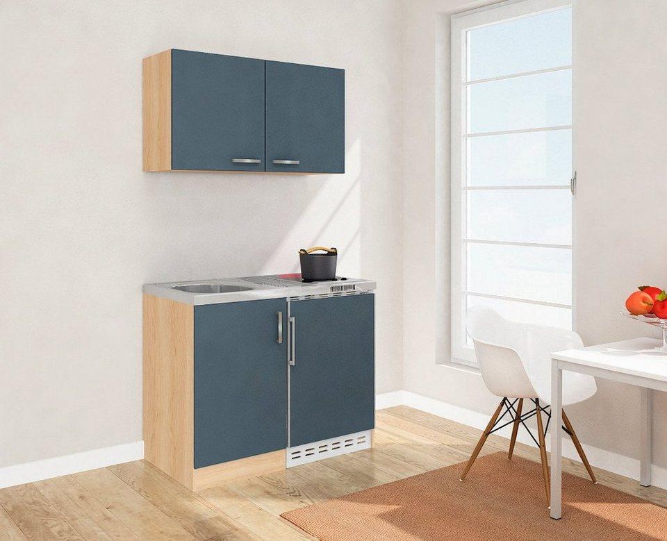 pantryk che mit k hlschrank. Black Bedroom Furniture Sets. Home Design Ideas