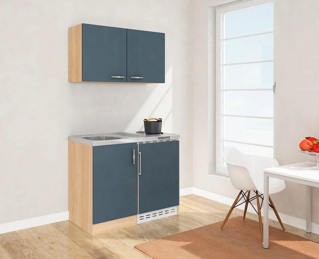Miniküche Mit Kühlschrank : Miniküche mpmes auszug glaskochfeld kühlschrank mikr
