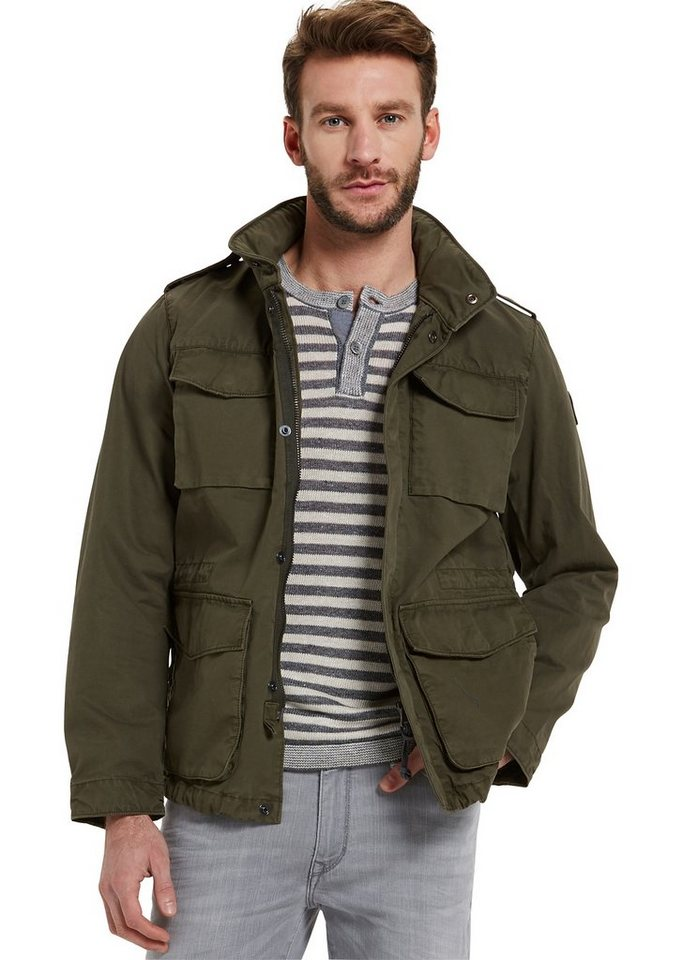 Marc O'Polo Jacke in 470 army green