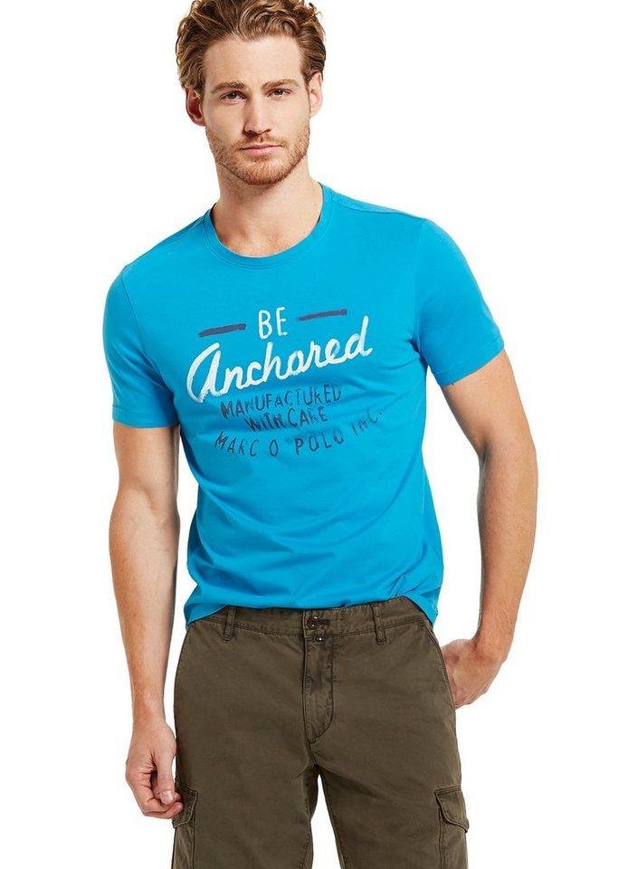 Marc O'Polo Shirt in 845 bluejay