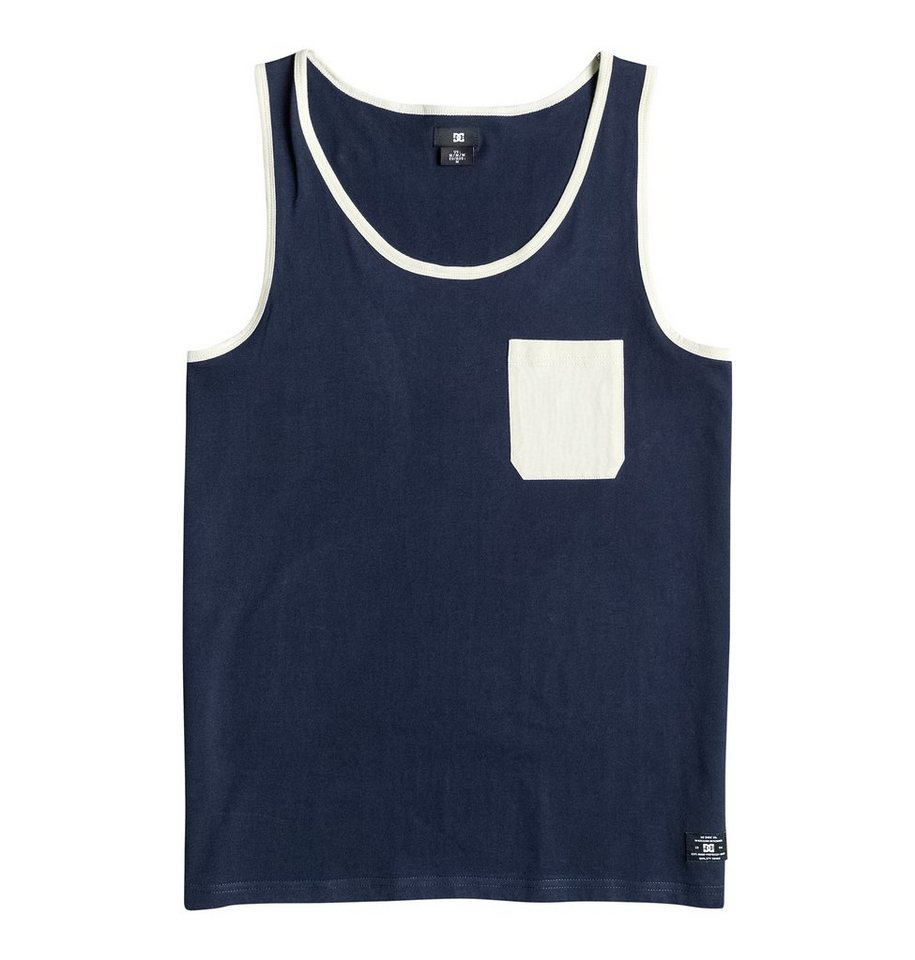 DC Shoes Tank »Contra « in Blue iris