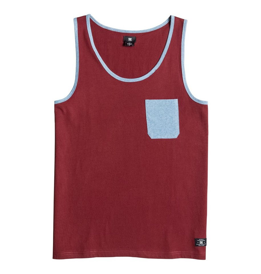 DC Shoes Tank »Contra « in Syrah