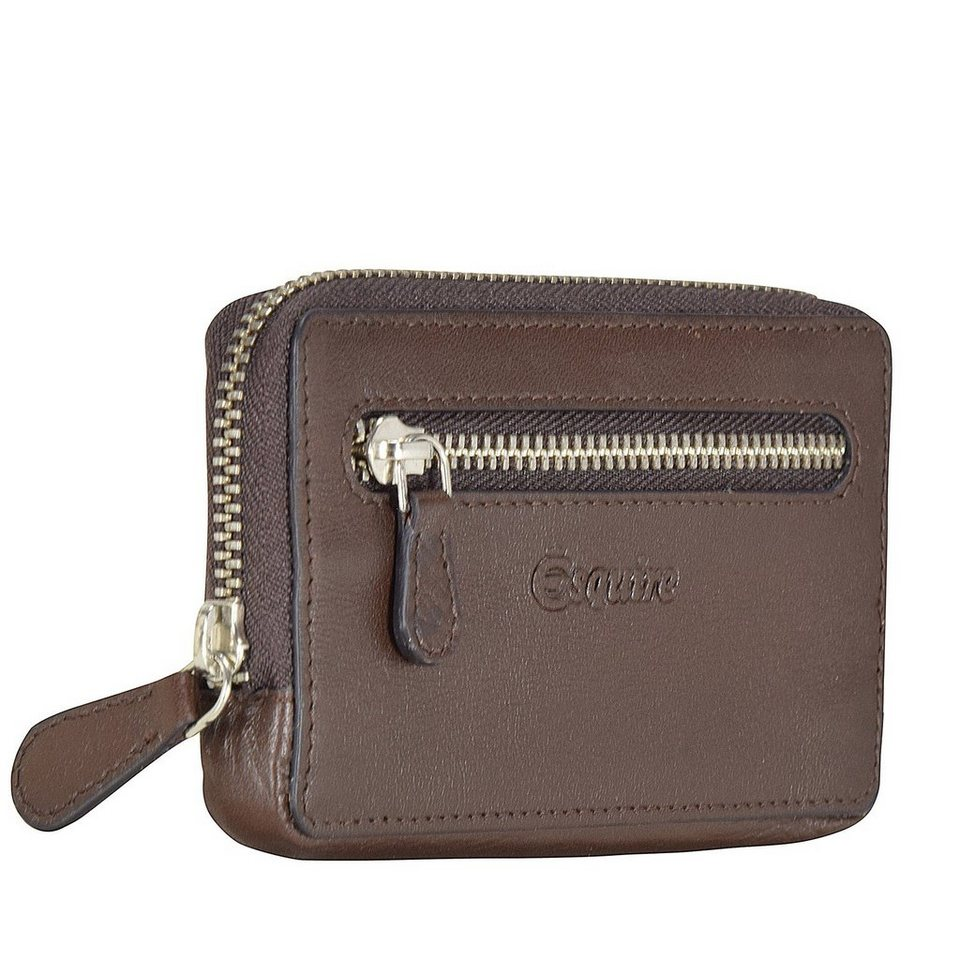 Esquire Vienna Schlüsseletui Leder 12 cm in mocca