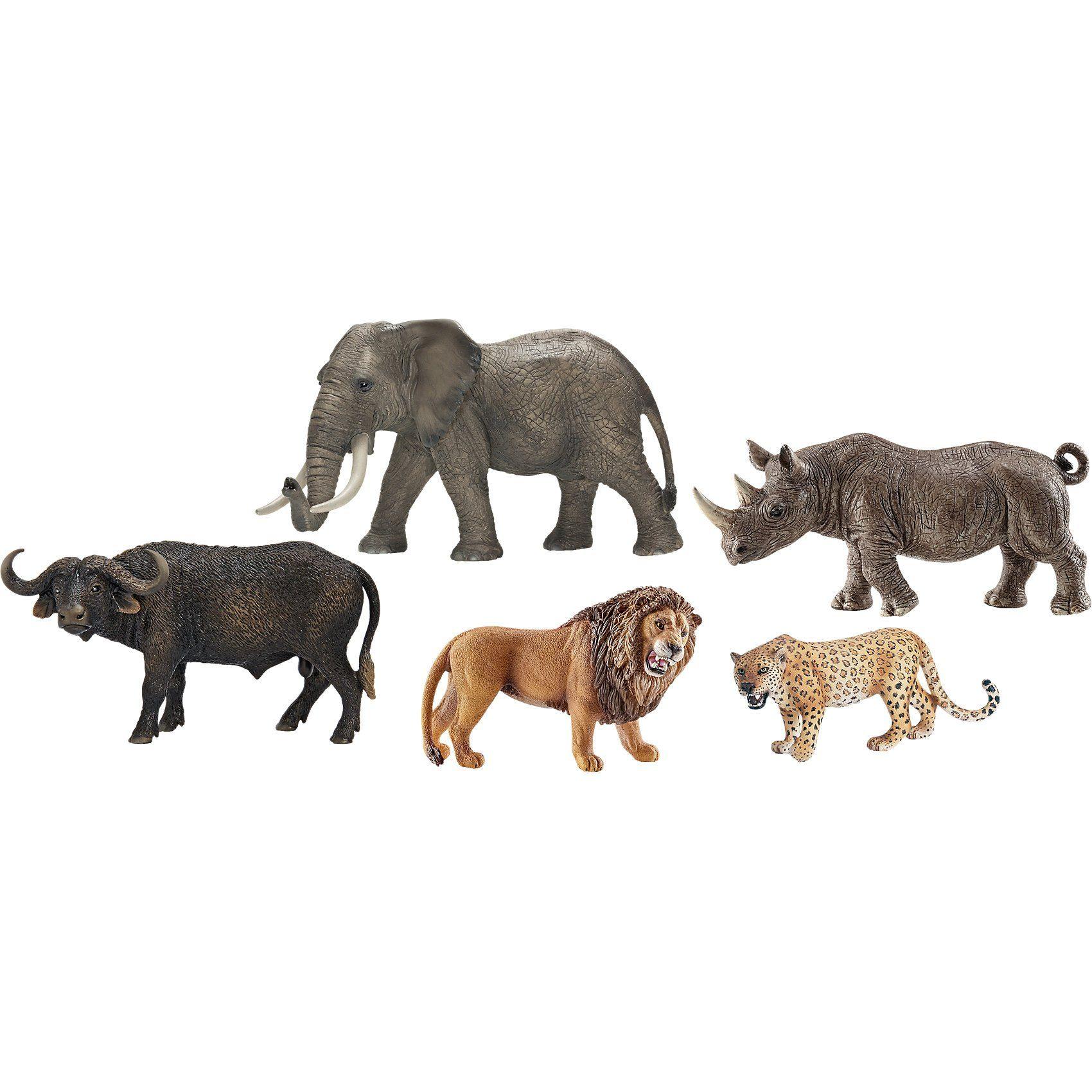 Schleich 41406 Wild Life: Set Big Five