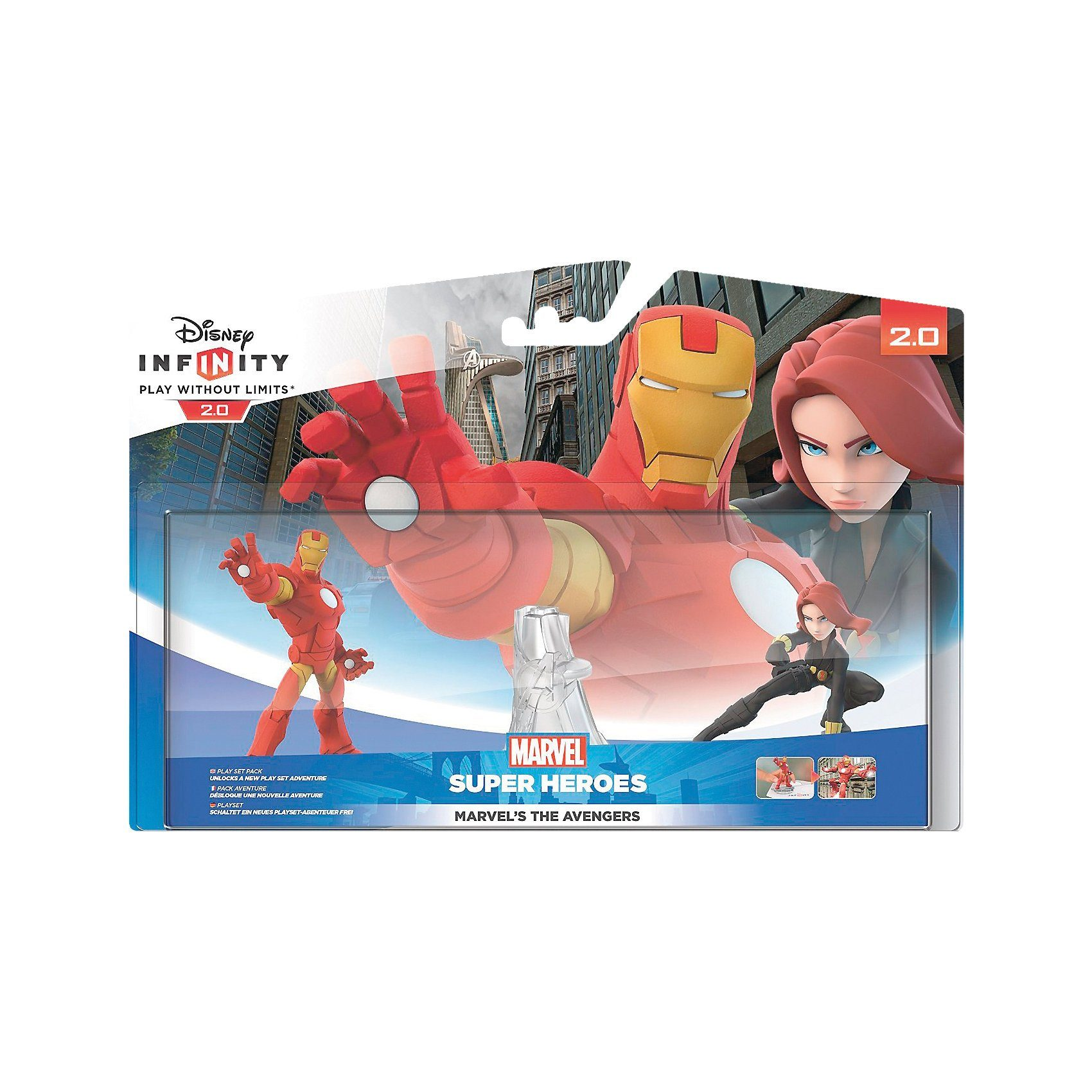 ak tronic Disney Infinity 2.0: Marvel Super Heroes Playset Avengers