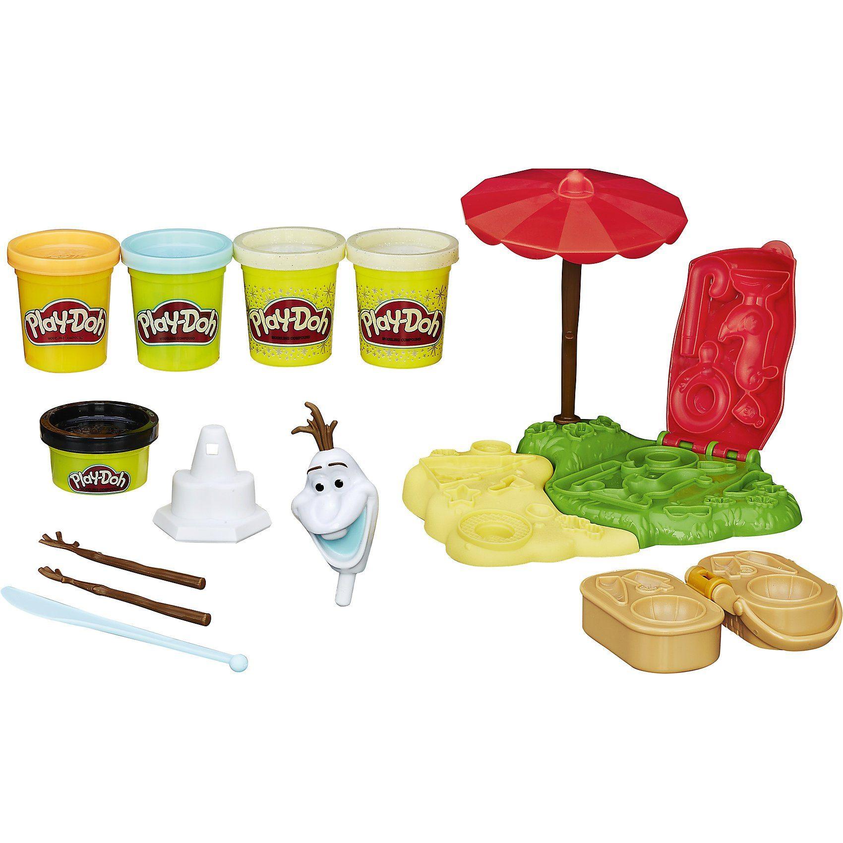 Hasbro Play-Doh Die Eiskönigin – Olaf im Sommer