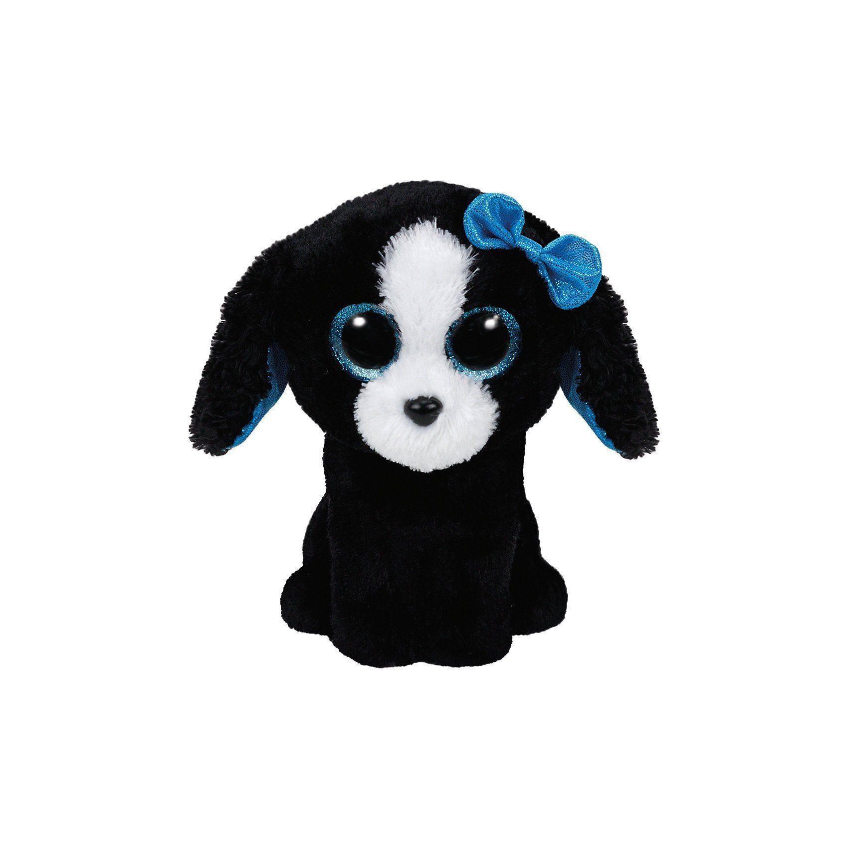 Ty Beanie Boo Tracey Hund schwarz, 15cm