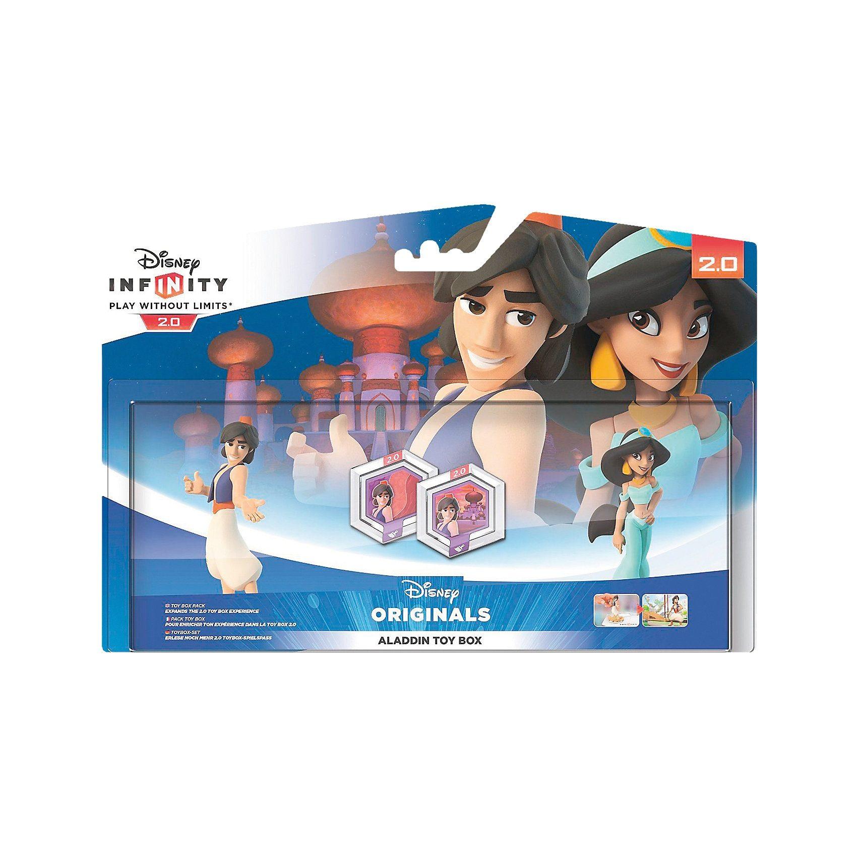 ak tronic Disney Infinity 2.0: Aladdin Toybox-Set