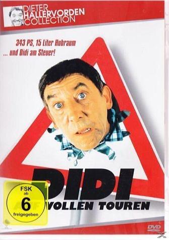 DVD »Didi auf vollen Touren«