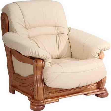 Möbel: Sessel: Ledersessel