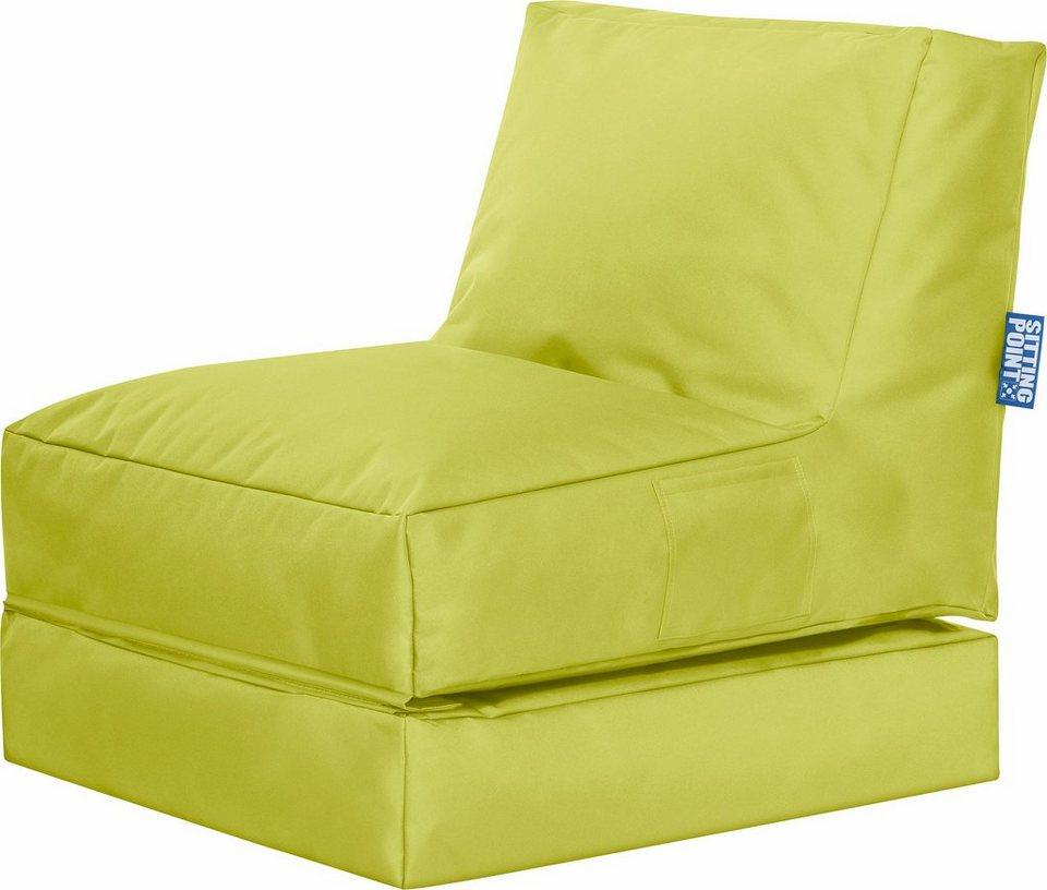 Sitting Point Sitzsack Mit Liegefunktion Twist Scuba 2 Teilig