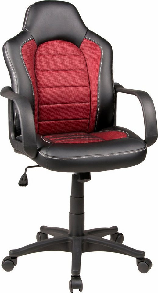 Duo Collection Gaming Chair »Robin« in schwarz/karminrot