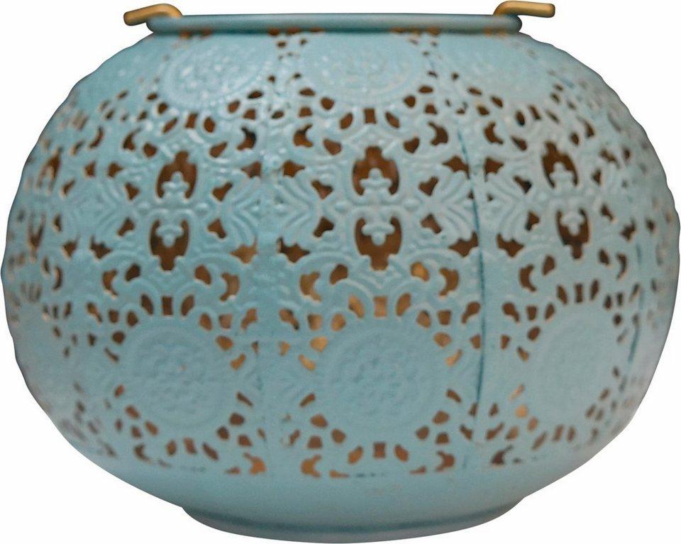 Home affaire Windlicht »Orient« in blau