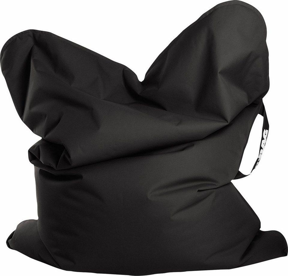 Sitting Point Sitzsack »SCUBA MyBag« mit Tragegriff in schwarz