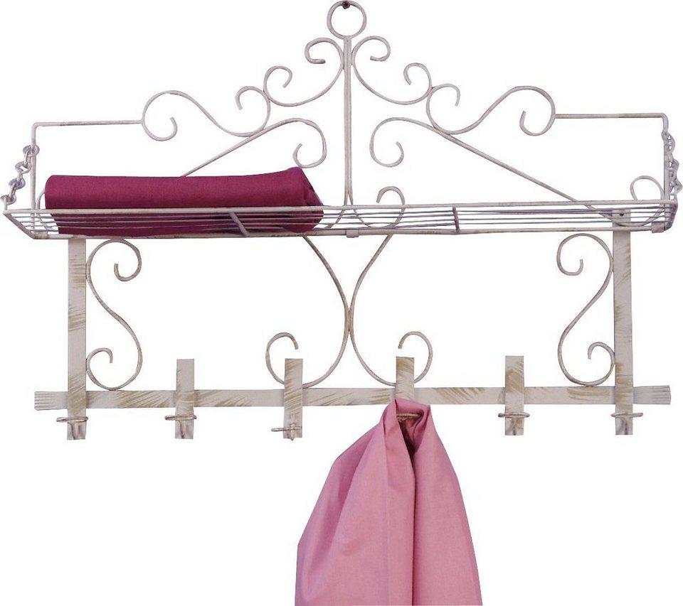 Garderobe, Home affaire in weiß