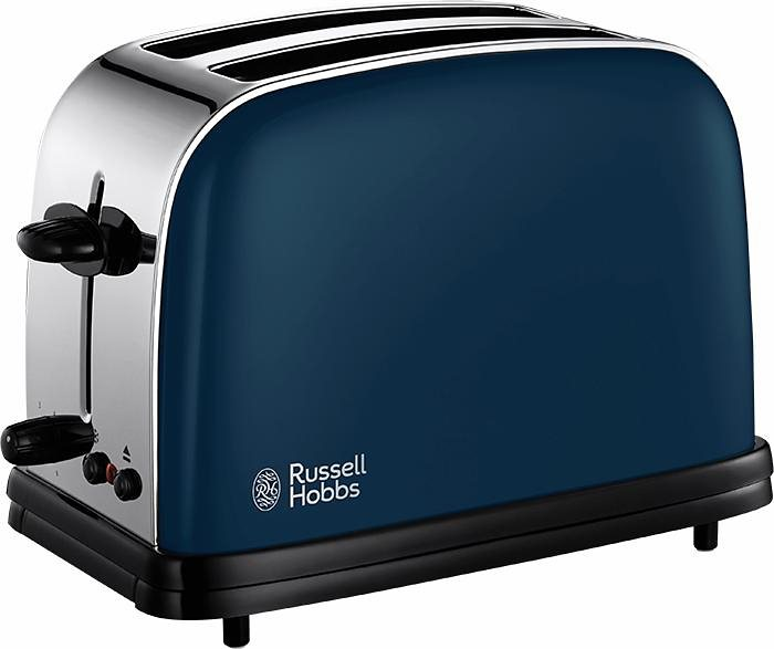 Russell Hobbs Toaster Colours Royal Blue 18958-56, 1200 Watt, Edelstahl blau lackiert in Royal Blau