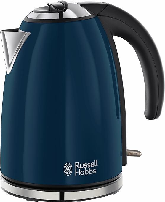 Russell Hobbs Wasserkocher Colours Royal Blue 18947-70, 1,7 Liter, 2200 Watt