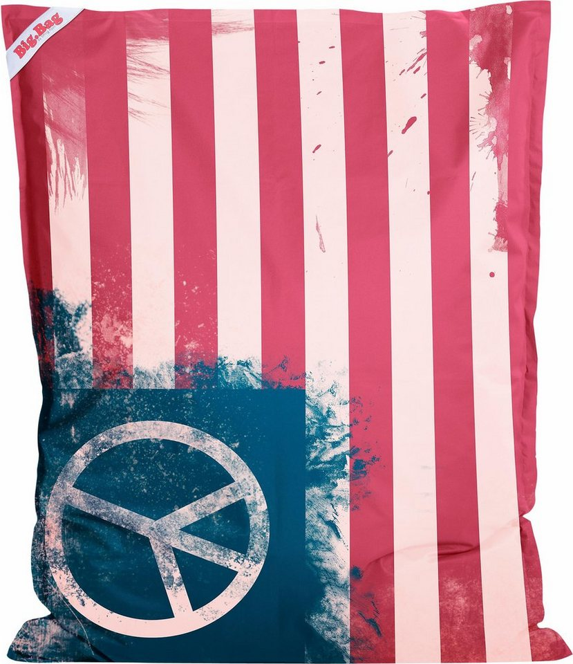 Sitting Point Sitzsack »BigBag Peace Flag« in bunt
