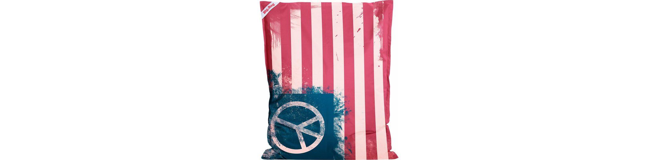 Sitting Point Sitzsack »BigBag Peace Flag«