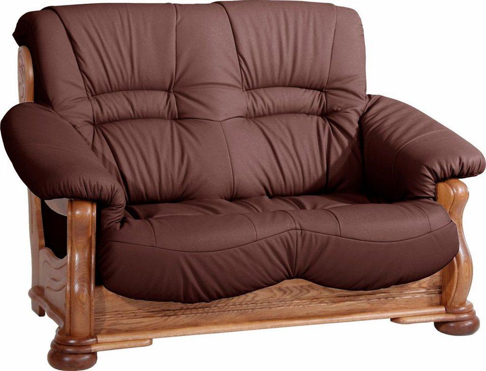 max winzer 2 sitzer sofa texas mit dekorativem. Black Bedroom Furniture Sets. Home Design Ideas