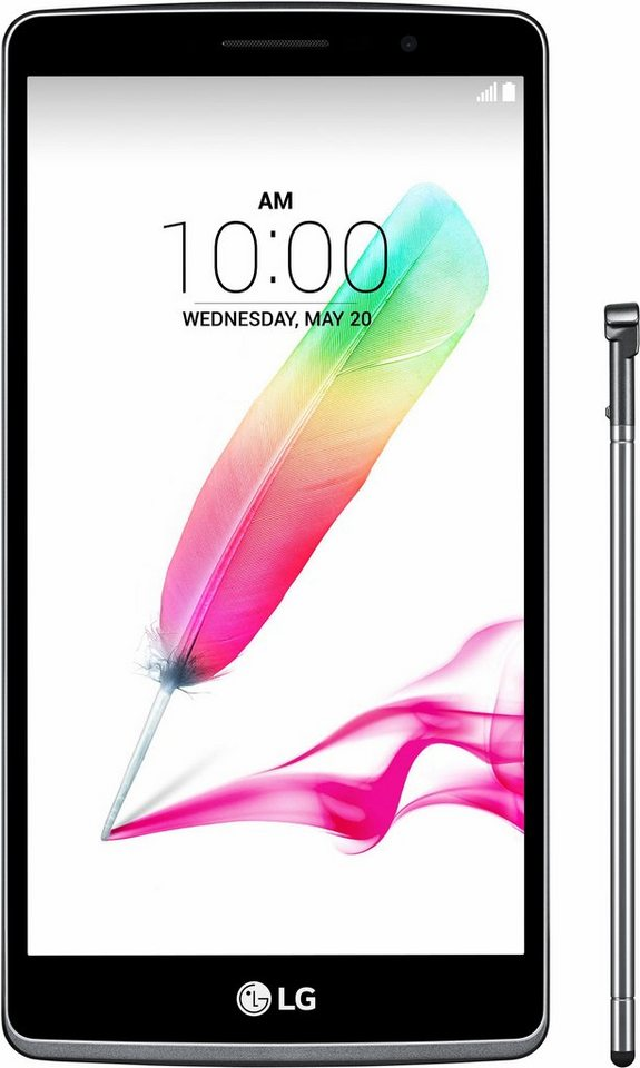 LG G4 Stylus Smartphone, 14,4 cm (5,7 Zoll) Display, LTE (4G), Android 5.0, 8,0 Megapixel, NFC