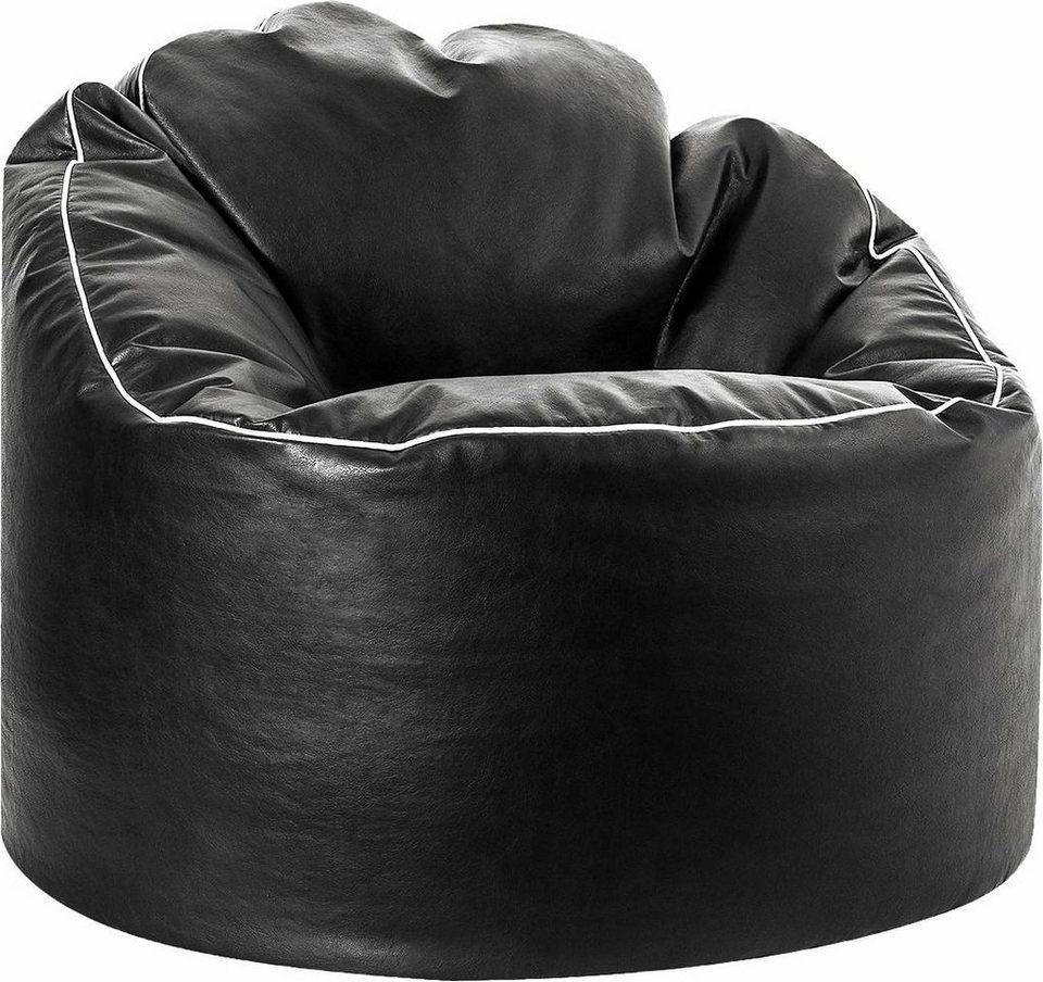 Sitting Point Sitzsack »Tube COSY« in schwarz