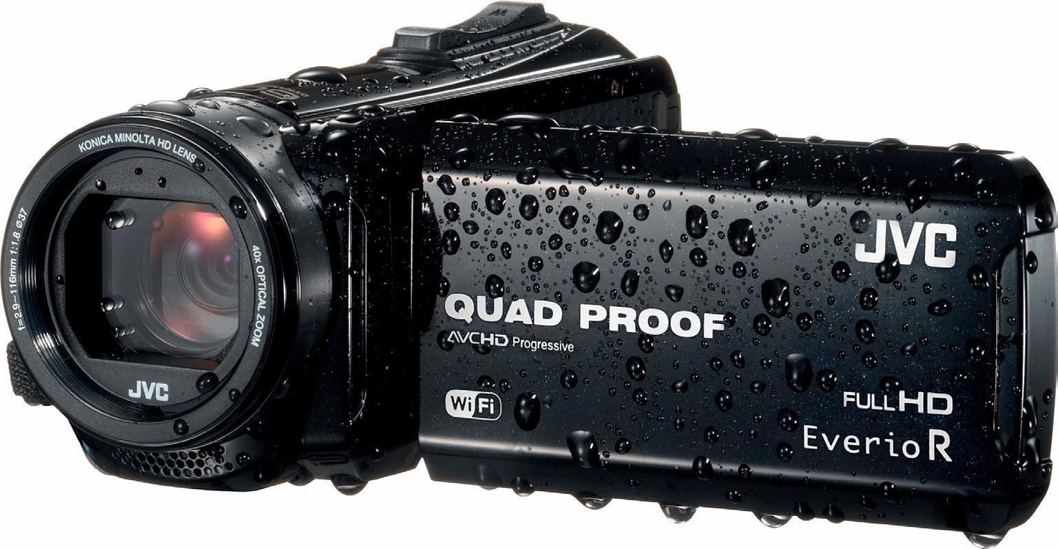 JVC GZ-RX610 1080p (Full HD) Camcorder, WLAN, Staubfest