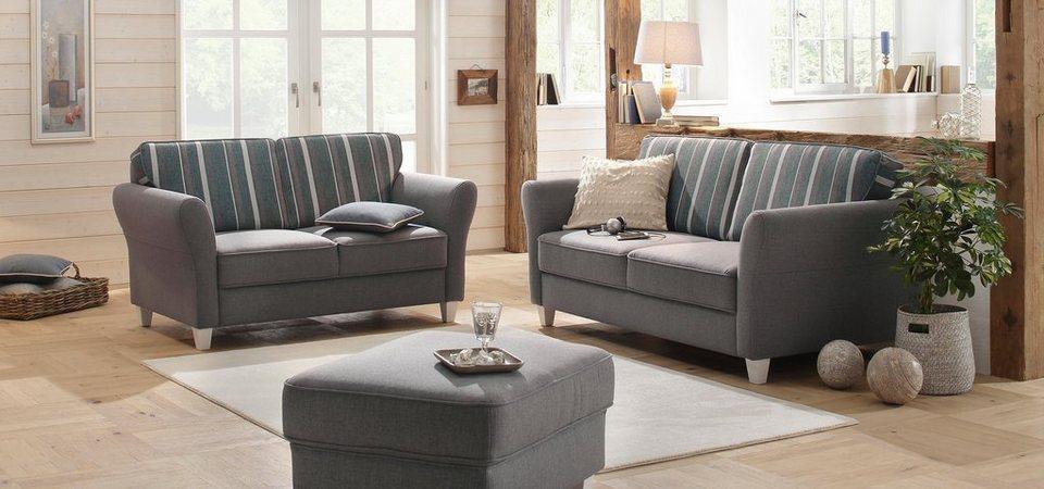 Home affaire garnitur 2 tlg 2 sitzer und 3 sitzer - Otto mobel couchgarnituren ...