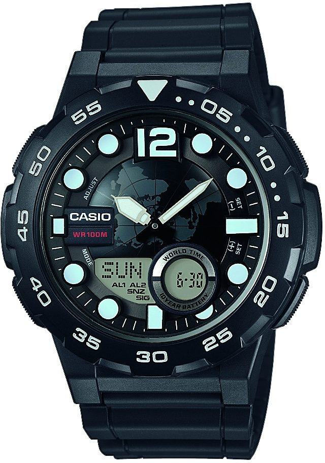 Casio Collection Chronograph »AEQ-100W-1AVEF«