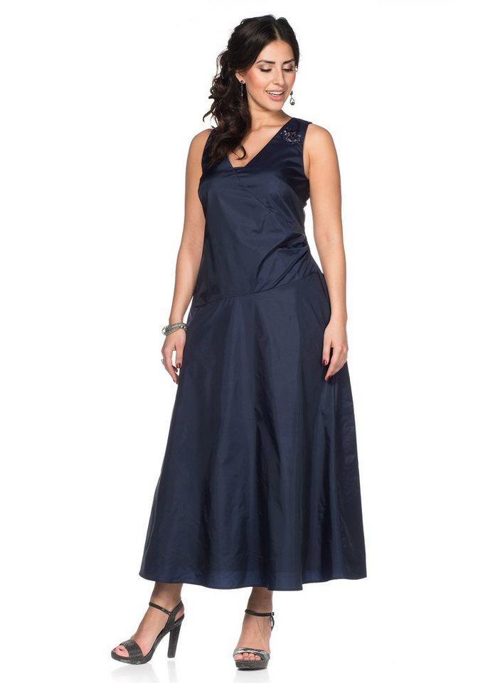 sheego Style Abendkleid in marine