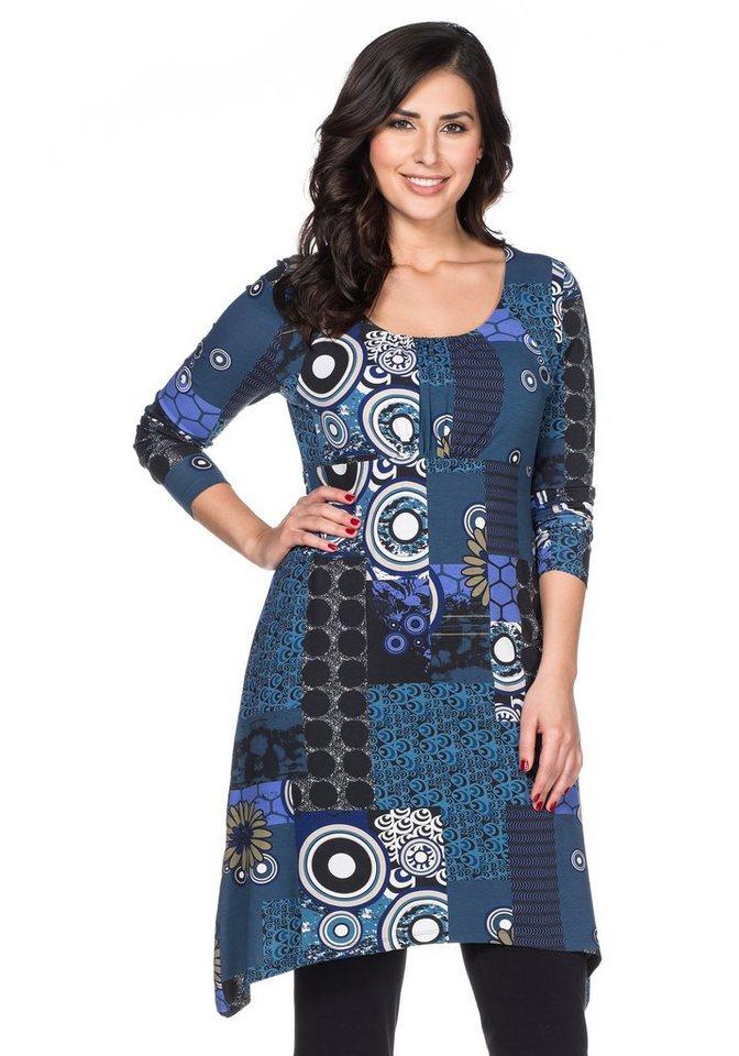 Joe Browns Hübsches Jerseykleid in blau bedruckt
