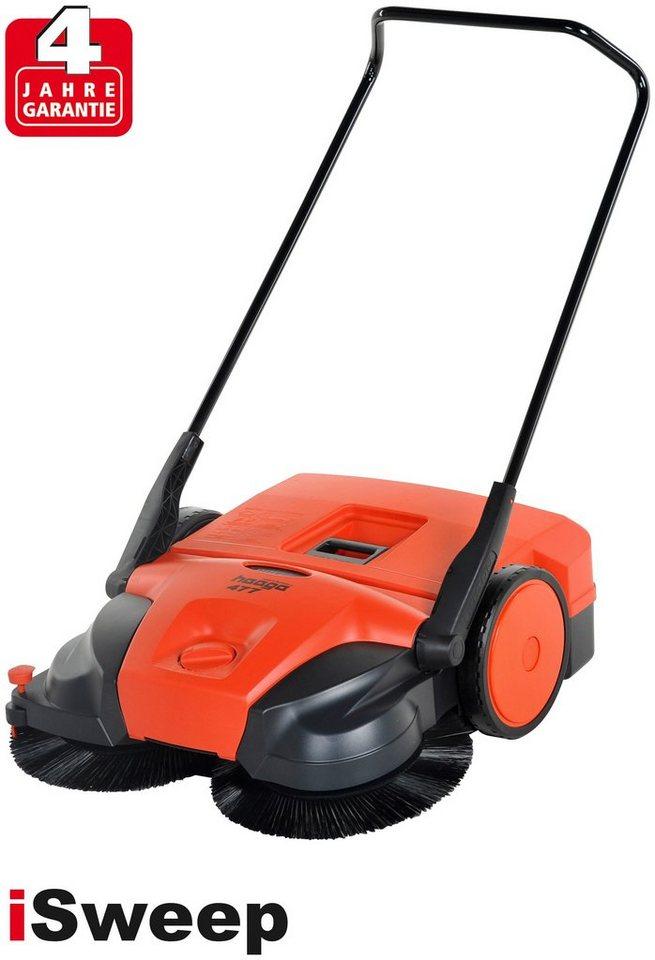 Handkehrmaschine »haaga 477« in orange