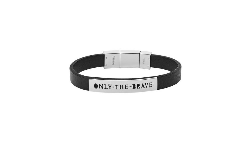 Diesel Armband, »Only the brave, DX0921040«