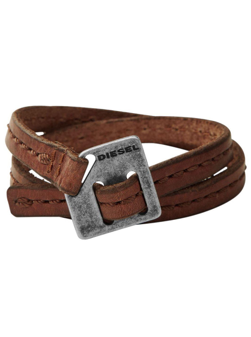 Diesel Armband zum Wickeln, »DX0568040«