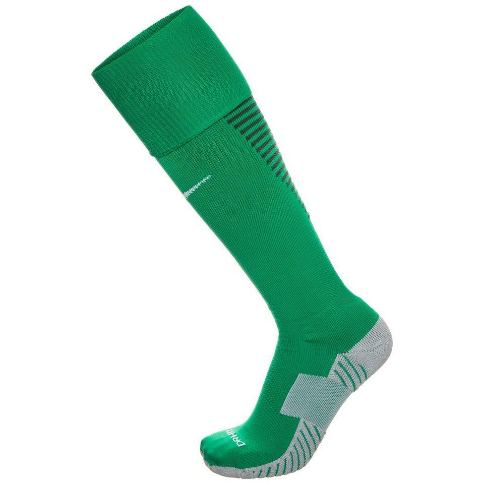 NIKE Team Match Fit Core OTC Sockenstutzen in grün / grau
