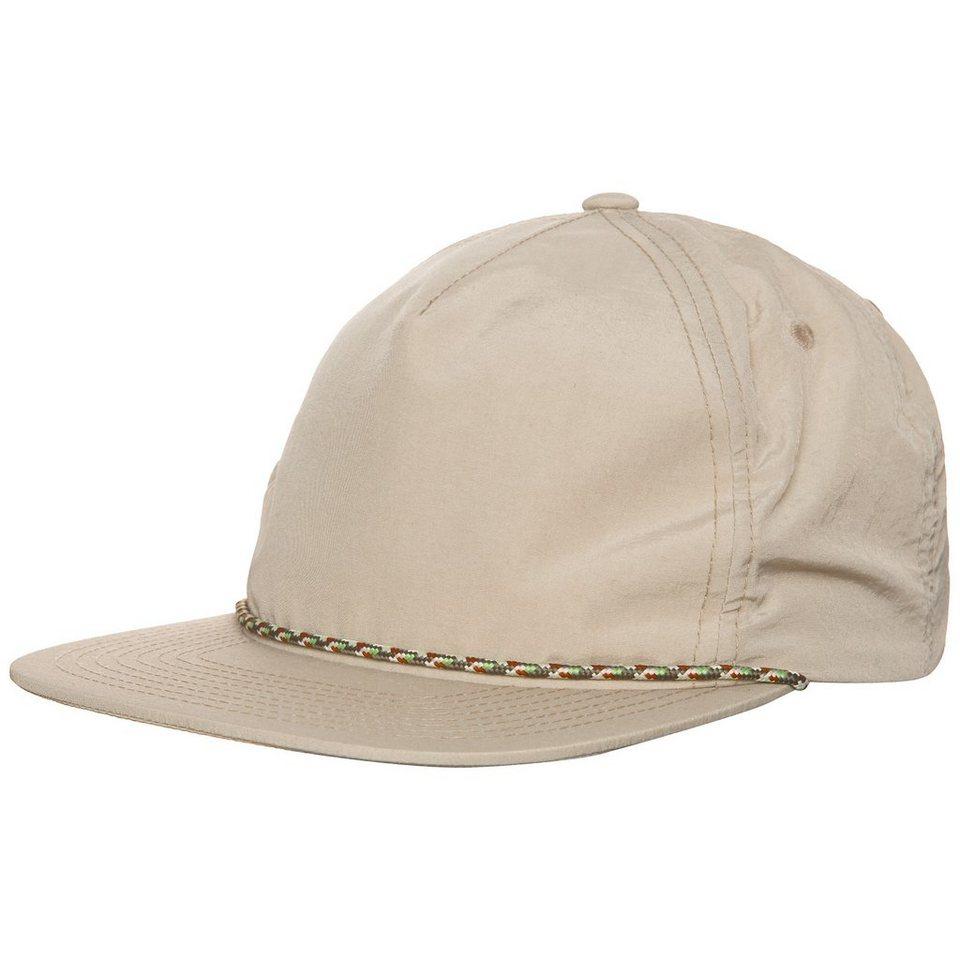 Herschel Cusak Snapback Cap in beige