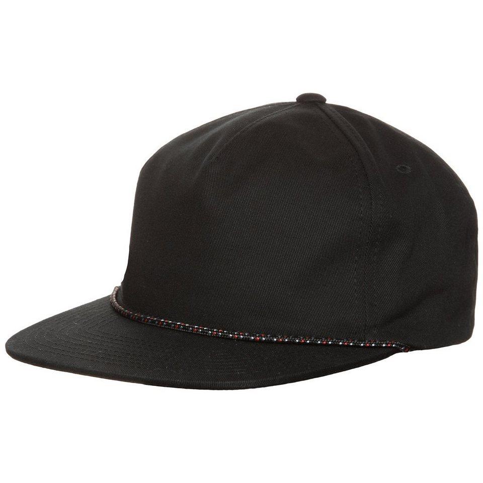 Herschel Cusak Snapback Cap in schwarz