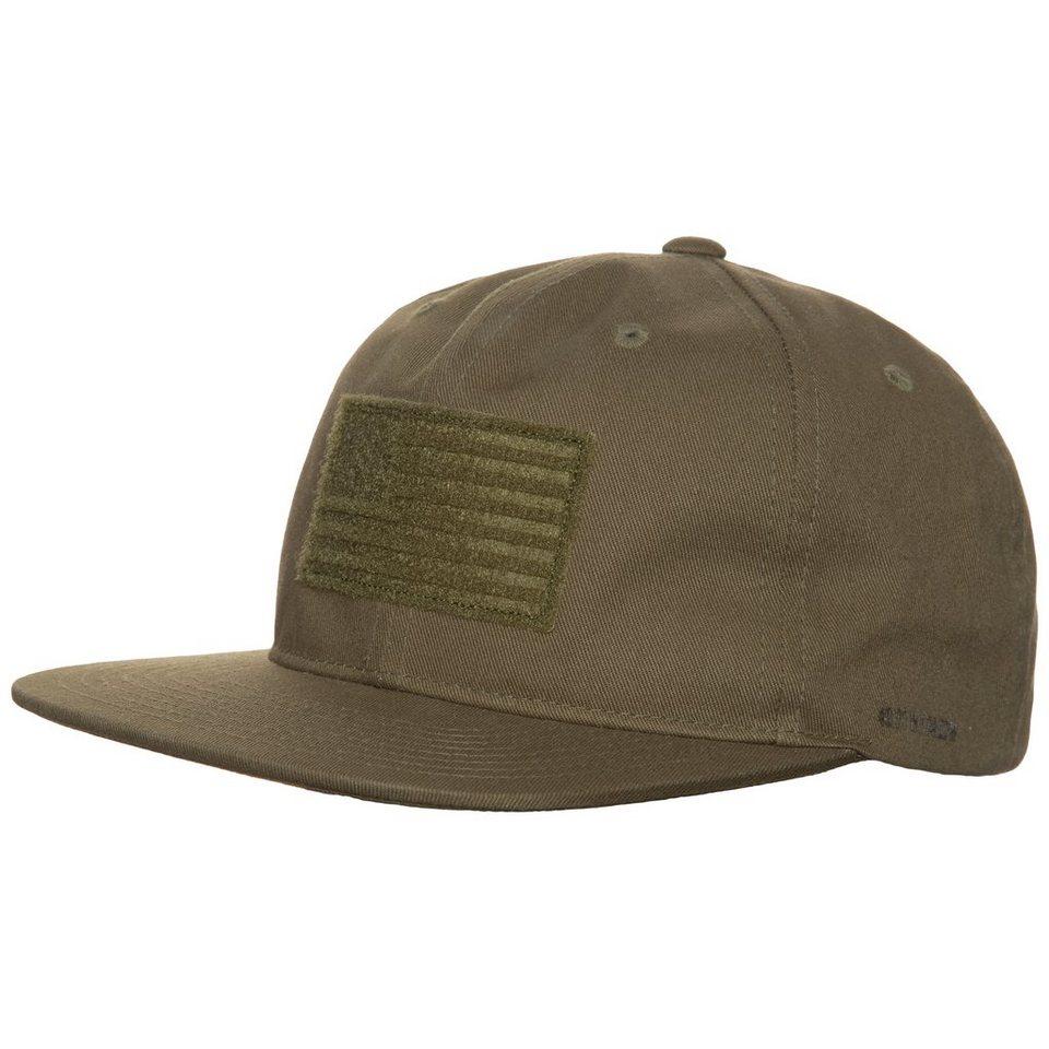 Herschel Troy - USA Snapback Cap in oliv