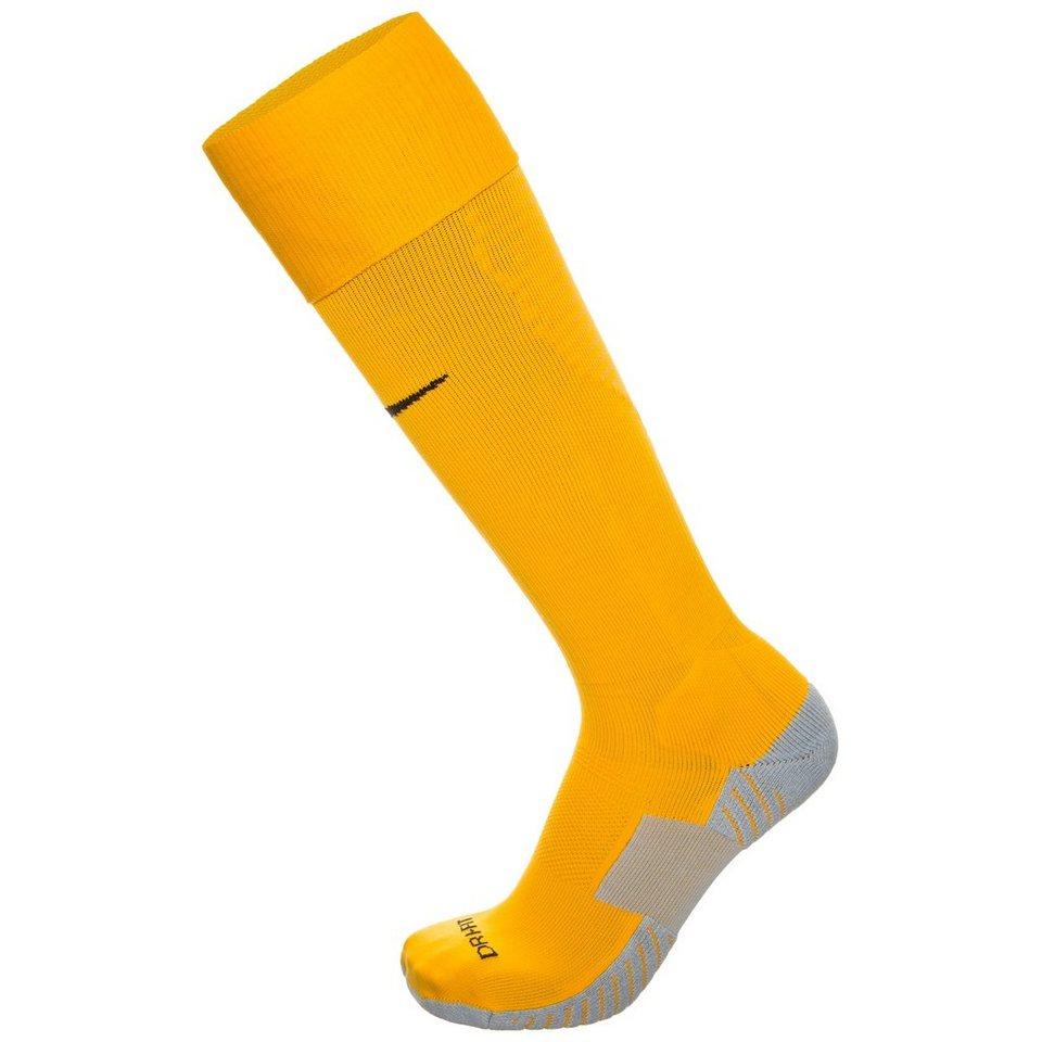 NIKE Team Match Fit Core OTC Sockenstutzen in gelb / grau