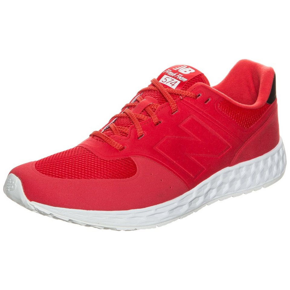 NEW BALANCE MFL574-RB-D Sneaker in rot / weiß