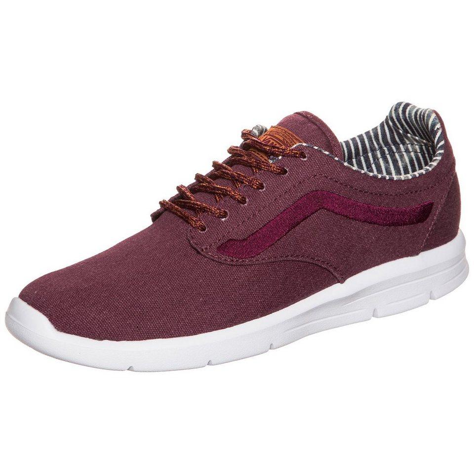 VANS Iso 1.5 Waxed C&L Sneaker in bordeaux / weiß