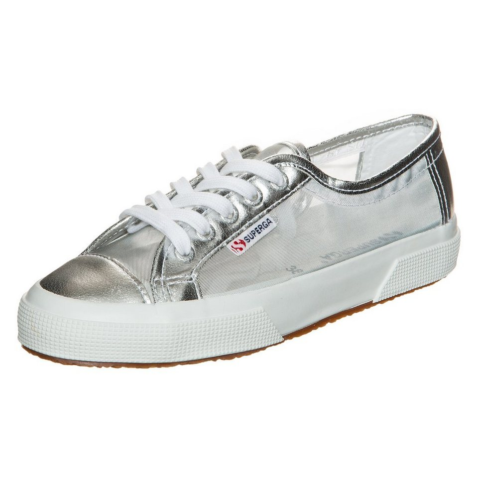 Superga 2750 Netw Sneaker Damen in silber