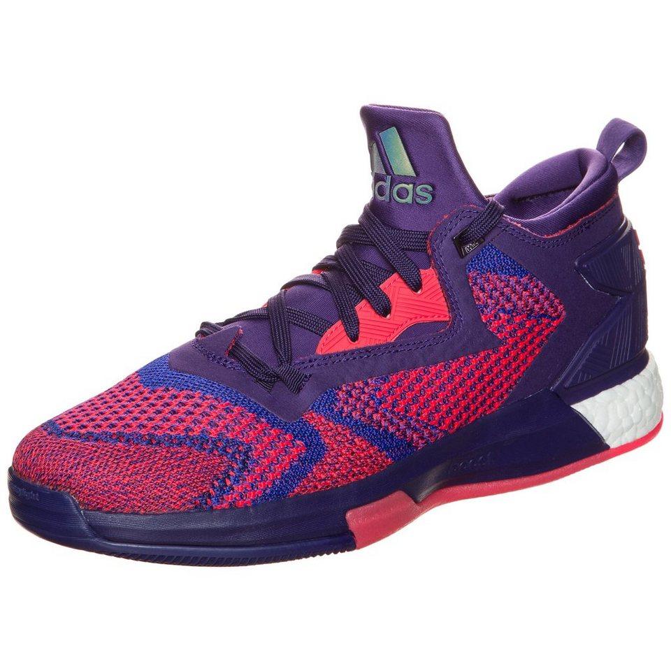 adidas Performance Lillard 2 Boost Primeknit Basketballschuh Herren in lila / pink / weiß