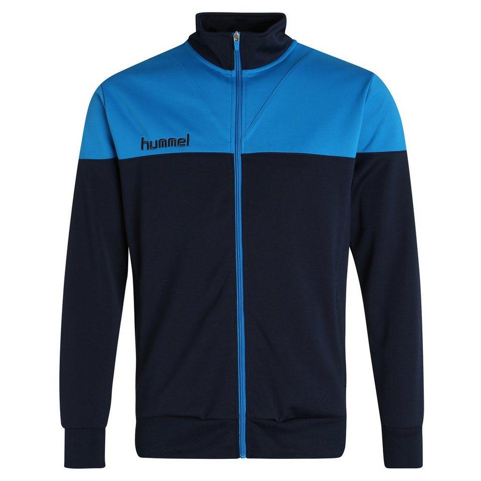 HUMMEL TEAMSPORT Sirius Trainingsjacke Herren in dunkelblau / blau