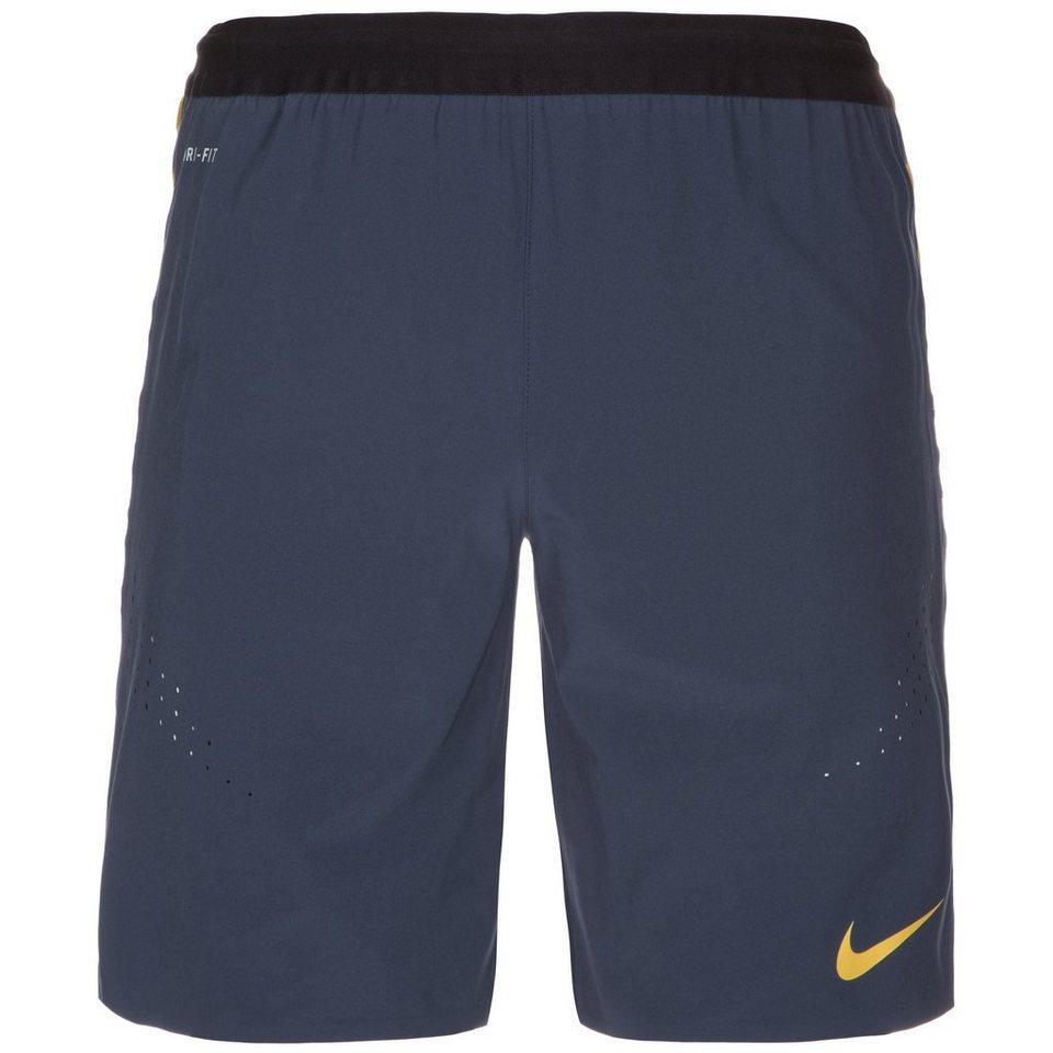 NIKE Strike Woven Short Herren in dunkelblau / gelb