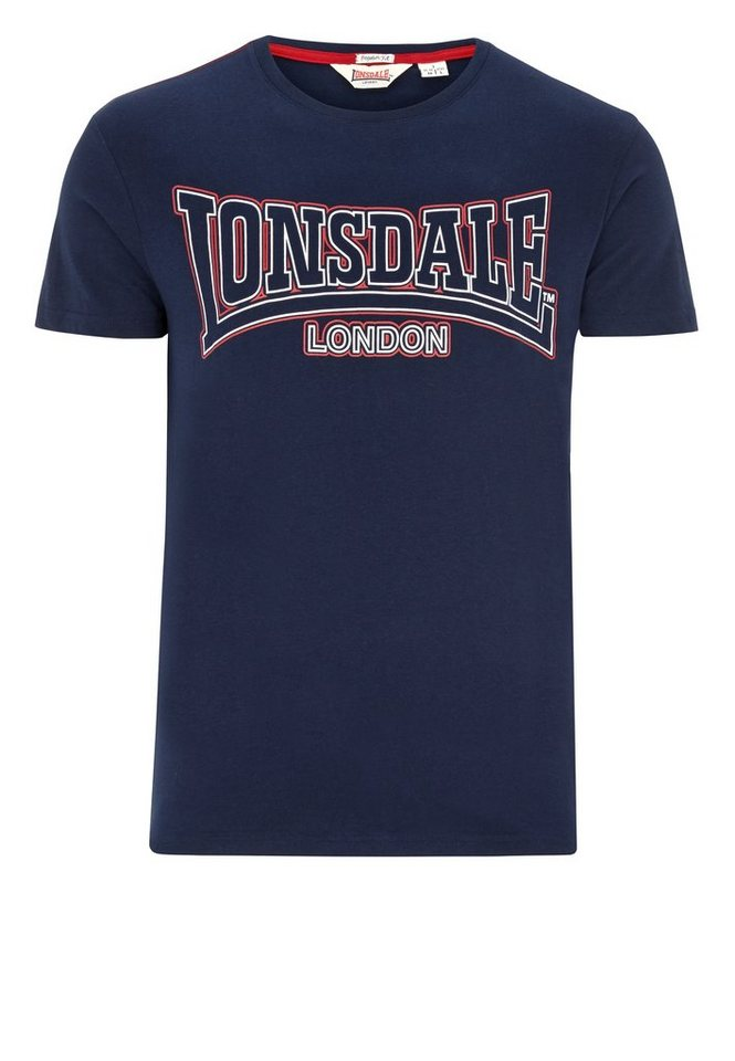 Lonsdale T-Shirt »ROMSLEY« in Navy