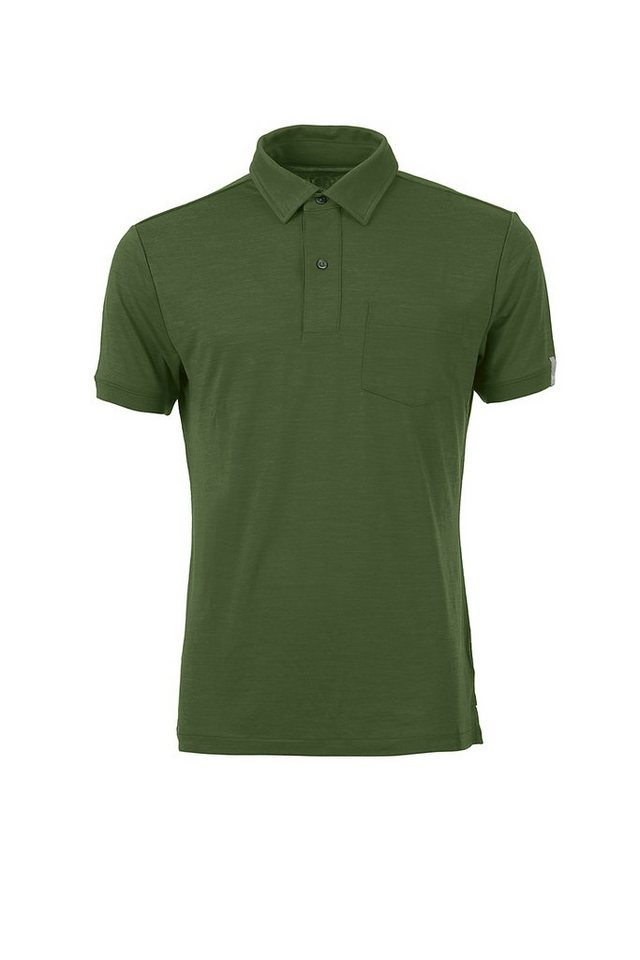 Super.Natural Merino-Polo »M VOYAGE CLASSIC POLO« in EARLY SPRING MELANGE