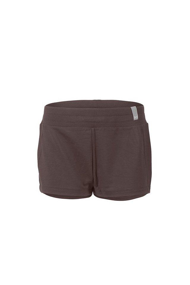 Super.Natural Merino-Shorts »W ESSENTIAL SHORT« in CAVIAR